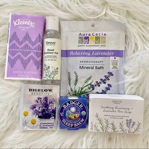Lavender Beauty Gift Set